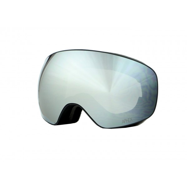 Aphex Explorer Matte Black - Silver & Spare Lens -Goggles - Explorer Matte Black - Silver & Spare Lens - Aphex
