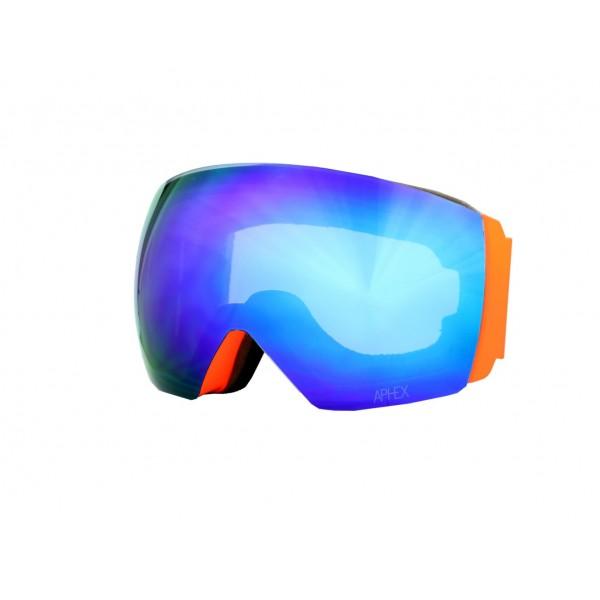 Aphex Styx Matte Orange - Revo Blue & Spare Lens