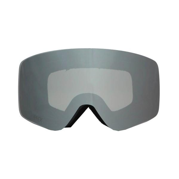Aphex Oxia Black - Silver & Spare Lens -Goggles - Oxia Black - Silver & Spare Lens - Aphex