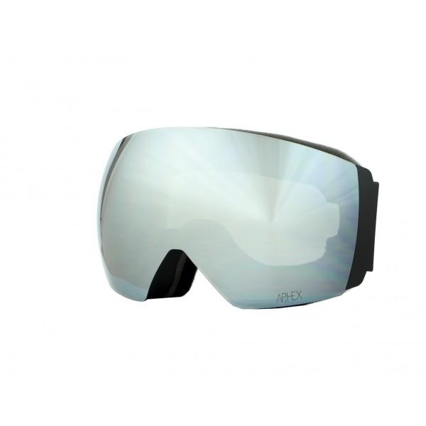 Aphex Styx Matte Black - Silver & Spare Lens -Goggles - Styx Matte Black - Silver & Spare Lens - Aphex