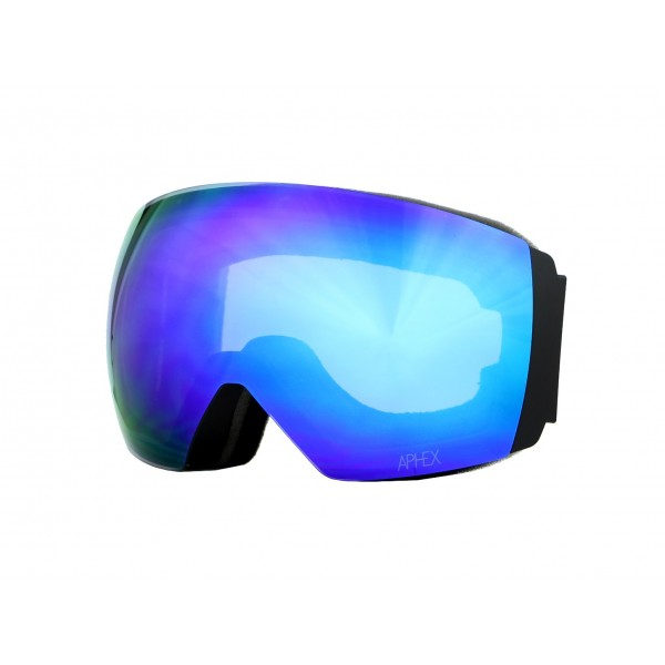 Aphex Styx Matte Black - Revo Blue & Spare Lens