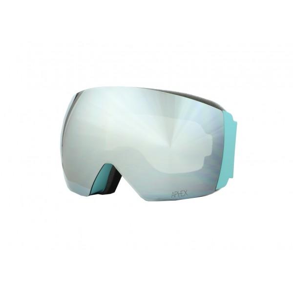 Aphex Styx Matte Petrol - Silver & Spare Lens