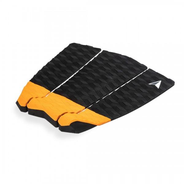 Roam 3 Piece Tail Pad Black/Orange -Traction Pads - 3 Piece Tail Pad Black/Orange - Roam