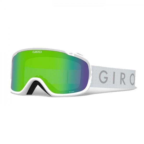 Giro Roam White + Loden Green & Yellow Lens