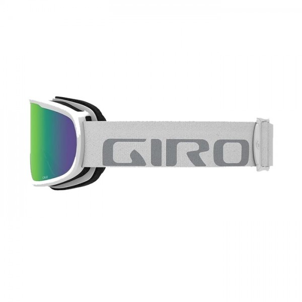 Giro Cruz White + Loden Green Lens -Goggles