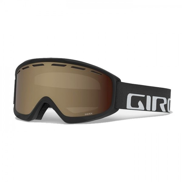 Giro Index Black + Amber Rose Lens -Goggles - Index Black + Amber Rose Lens - Giro