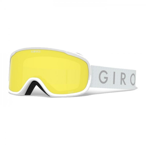 Giro Roam White + Loden Green & Yellow Lens -Goggles - Roam White + Loden Green & Yellow Lens - Giro