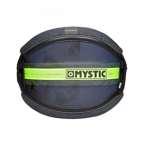 Mystic Majestic Waist Harness Navy/Lime -Windsurf Trapezes - Majestic Waist Harness Navy/Lime - Mystic