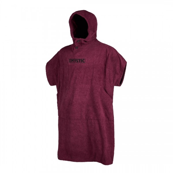 Mystic Poncho Oxblood Red -Wetsuit Accessoires - Poncho Oxblood Red - Mystic
