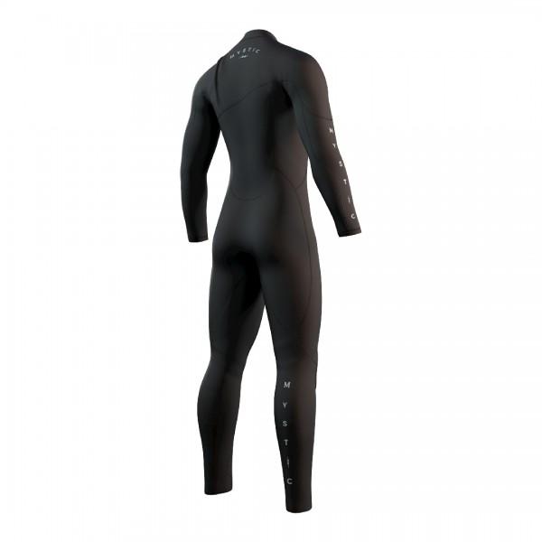 Mystic The One Fullsuit 5/3mm Zipless Black -Steamer Mannen - The One Fullsuit 5/3mm Zipless Black - Mystic