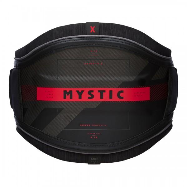 Mystic Majestic X Waist Harness Black/Red -Windsurf Trapezes - Majestic X Waist Harness Black/Red - Mystic