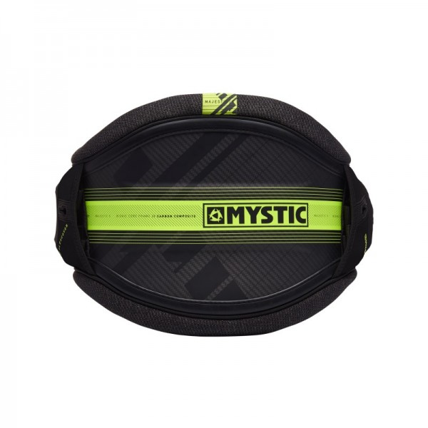 Mystic Majestic X Waist Harness Black/Lime