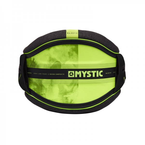 Mystic Majestic Waist Harness Black/Lime
