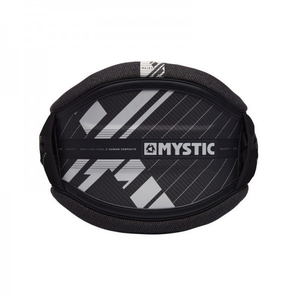 Mystic Majestic X Waist Harness Black/White -Windsurf Trapezes - Majestic X Waist Harness Black/White - Mystic
