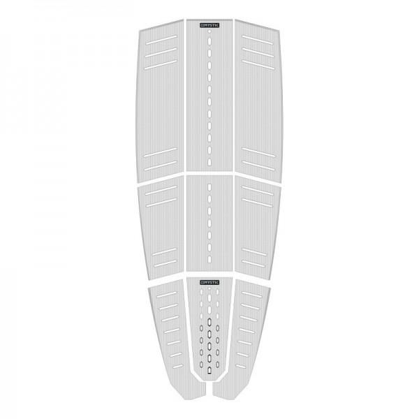 Mystic Ambush Deckpad Classic Shape White -Traction Pads - Ambush Deckpad Classic Shape White - Mystic