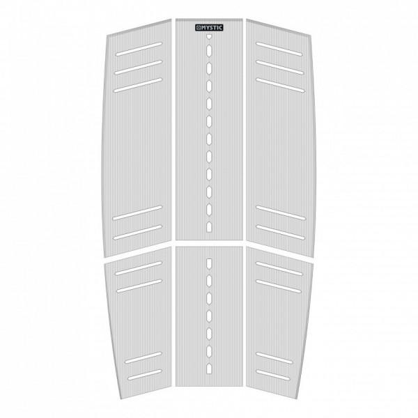Mystic Ambush Mid+Front Deckpad White -Traction Pads - Ambush Mid+Front Deckpad White - Mystic