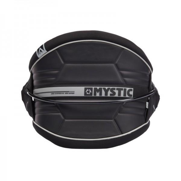 Mystic Arch Flex Shell Waist Harness Black -Kitesurf Trapezes - Arch Flex Shell Waist Harness Black - Mystic