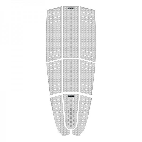 Mystic Guard Deckpad Classic Shape White -Traction Pads - Guard Deckpad Classic Shape White - Mystic