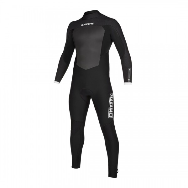 Mystic Majestic Fullsuit 4/3mm Bzip Black