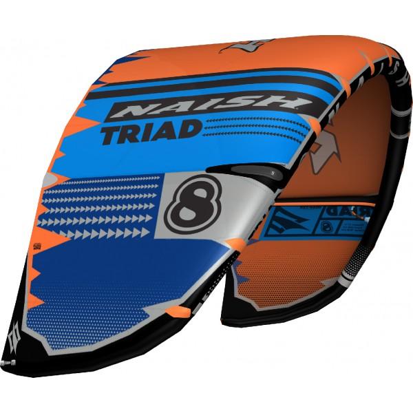 Naish Triad Orange/Blue 2021 -Kites - Triad Orange/Blue 2021 - Naish