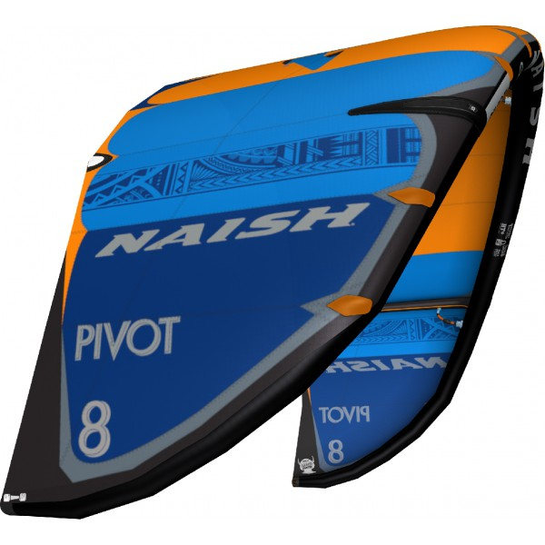 Naish Pivot Deep Blue/Orange 2021 -Kites - Pivot Deep Blue/Orange 2021 - Naish