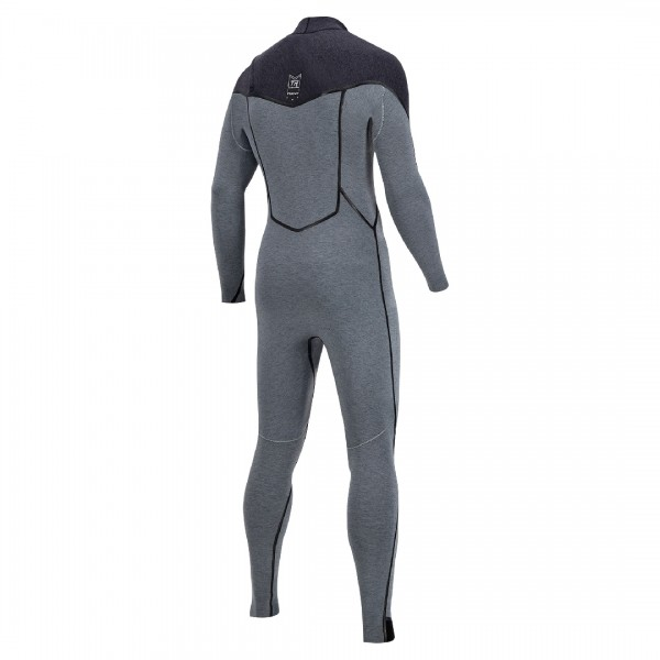 Prolimit Mercury 6/4 Frontzip Grey/black