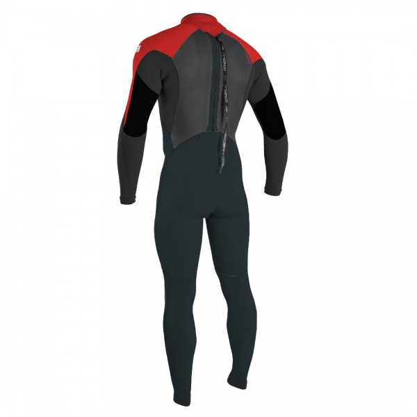 O Neill Epic Youth 4/3 Gunmetal/Red -Wetsuit Kinderen - Epic Youth 4/3 Gunmetal/Red - O Neill