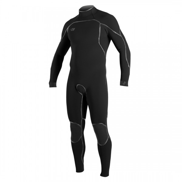 O'Neill Psycho One 3/2 Back Zip Full Blk/Blk
