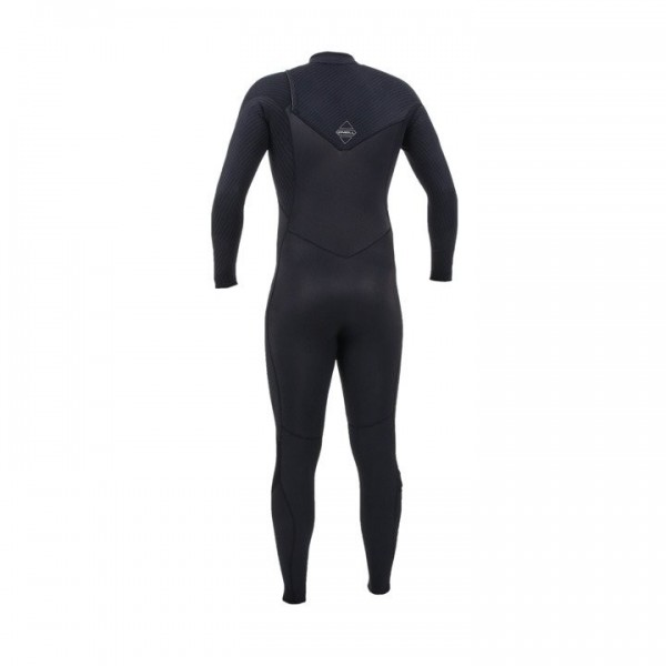 O'Neill Hyperfreak 5/4+ Chest Zip Black