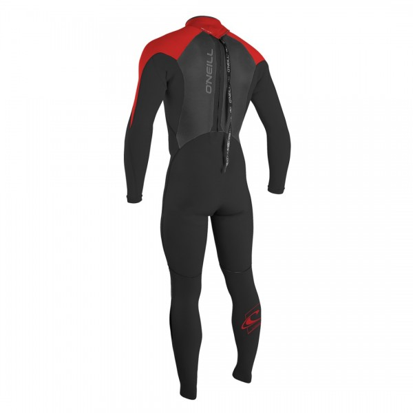 O Neill Epic Youth 4/3 Mniteoil/Mniteoil/Red -Wetsuit Kinderen - Epic Youth 4/3 Mniteoil/Mniteoil/Red - O Neill