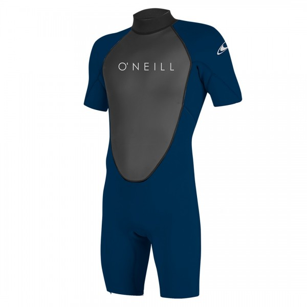 O Neill Reactor-2 2/2 Back Zip S-S Spring Abyss/Abyss -Shorty Mannen - Reactor-2 2/2 Back Zip S-S Spring Abyss/Abyss - O Neill