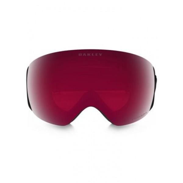 Oakley Airbrake XL Factory Pilot Blackout - Prizm Snow Jade Iridium + Prizm Rose Lens -Goggles