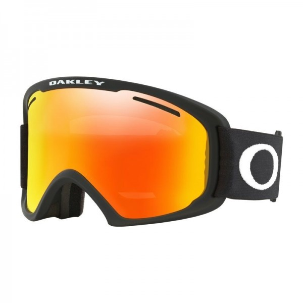 Oakley O Frame 2.0 PRO XL Matte Black - Fire Iridium Lens -Goggles