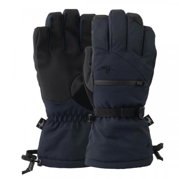 POW Glove Cascadia GTX Long Black + Liner Wms -Handschoenen - Glove Cascadia GTX Long Wms - POW Gloves