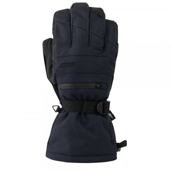 POW Glove Wayback GTX Long Black + Liner -Handschoenen - Glove Warner GTX Long Black - POW Gloves