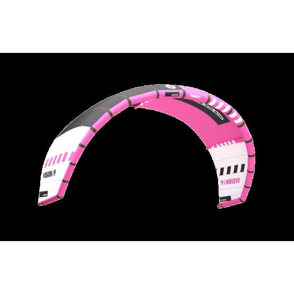 RRD Vision MK6 Grey/Pink -Kites - Vision MK6 Grey/Pink - RRD