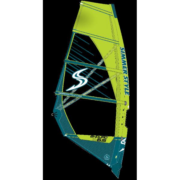 Simmer Enduro Yellow 2020 -Zeilen - Enduro Yellow 2020 - Simmer Style