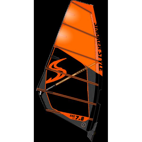 Simmer 2XC 2018 Orange -Zeilen