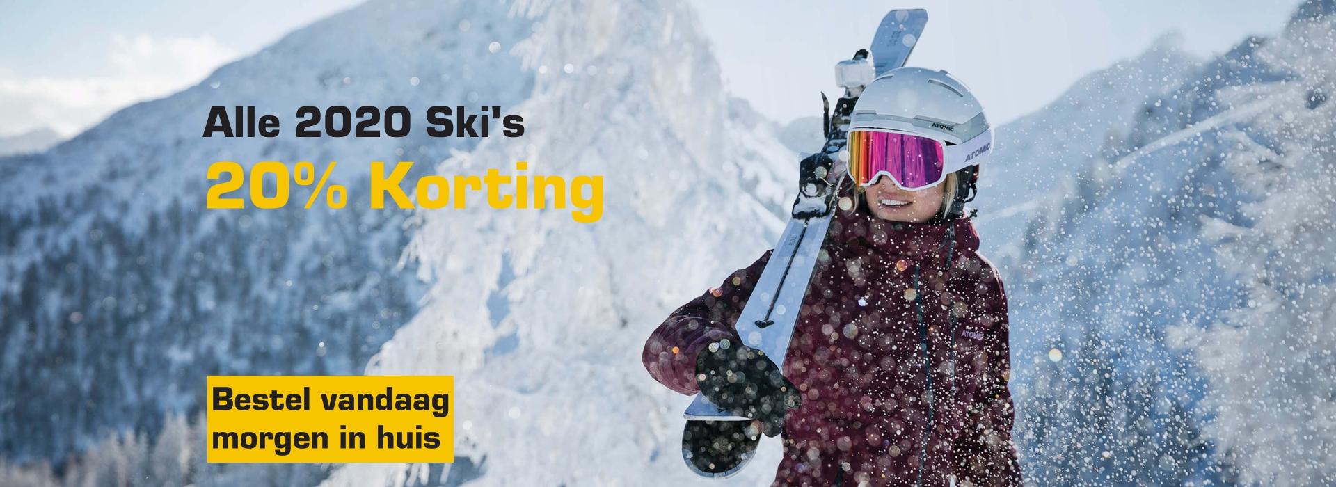 Ski's 20%