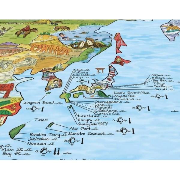 Surftrip Map