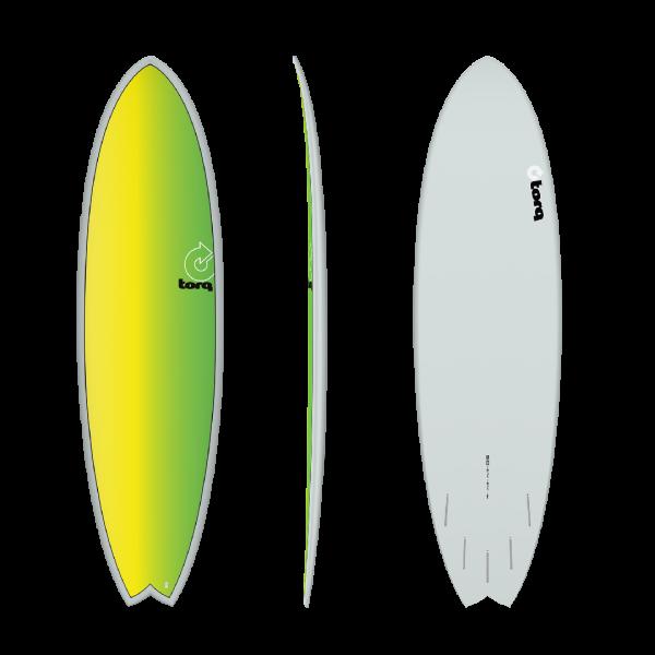 """Torq Surfboards 6 10"""" Fish -Surfboards - 6 10"""" Fish - Torq"""