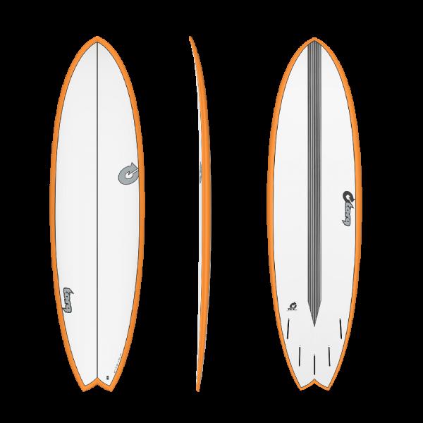 Torq Surfboards CS Fish Orange Rail -Surfboards - CS Fish Orange Rail - Torq
