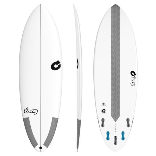 Torq Surfboard Hybrid TEC White