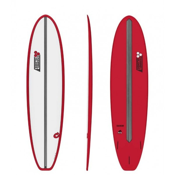 Torq Surfboards CI Chancho Pinline Red -Surfboards - CI Chancho Pinline Red - Torq