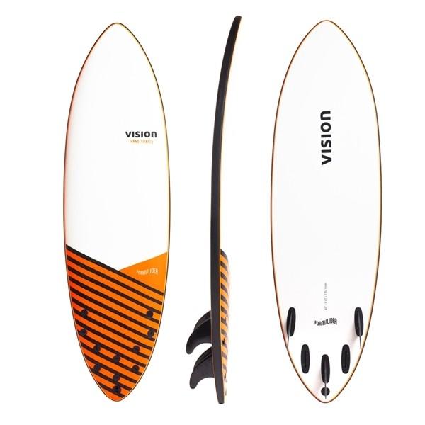 Vision Foam Slider 5 Fin -Surfboards