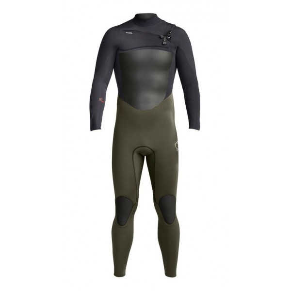 Xcel Infiniti X2 5/4 Men Full Dark Forest Black -Wetsuits Aanbiedingen - Infiniti X2 5/4 Men Full Dark Forest Black - Xcel