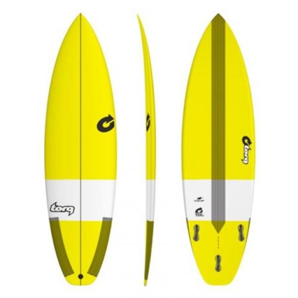 Torq Surfboard Comp TEC Yellow