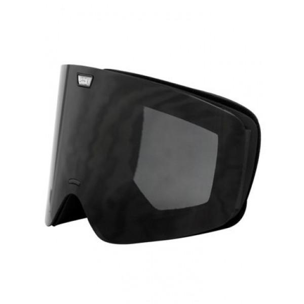 Aphex Alpha Matte Black - Black Edition & Spare Lens -Goggles - Alpha Black-Black Edition+Spare Lens - Aphex
