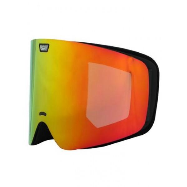 Aphex Alpha Matte Black - Revo Red & Spare Lens -Goggles - Alpha Black-Revo Red+Spare Lens - Aphex