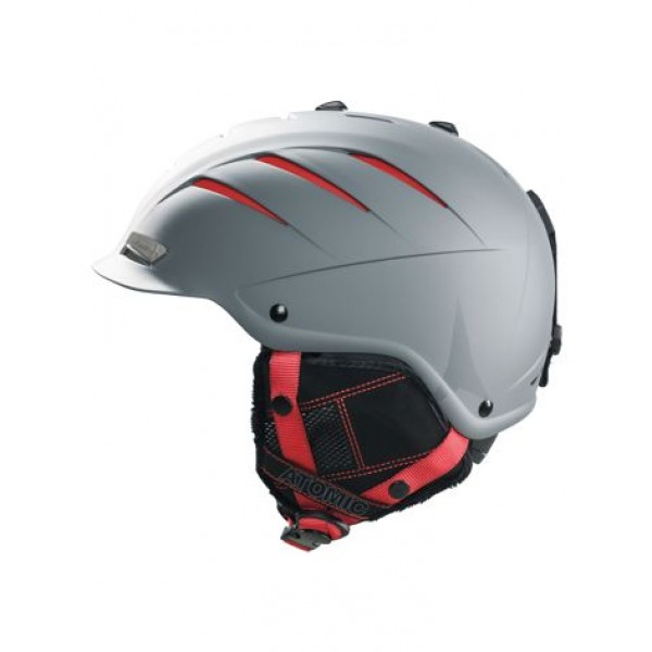Atomic Nomad LF Grey -Helmen & Protectie - Nomad LF Grey - Atomic